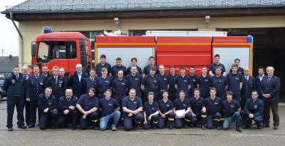 Foto zur Meldung: 26 neue Feuerwehrkameraden ausgebildet