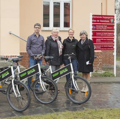 Bild der Meldung: Fahrräder für Flüchtlinge