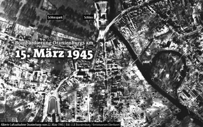 Foto zu Meldung: Bombardierung vor 70 Jahren – Stilles Gedenken bei lautem Sirenengeheul