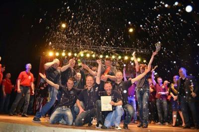 Foto zur Meldung: Landesmeisterschaft - Unser Männerballett holt den Titel zum 6. Mal!
