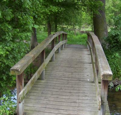 Foto zu Meldung: Bürgermeister Fischer informiert über Nauheimer Brücken