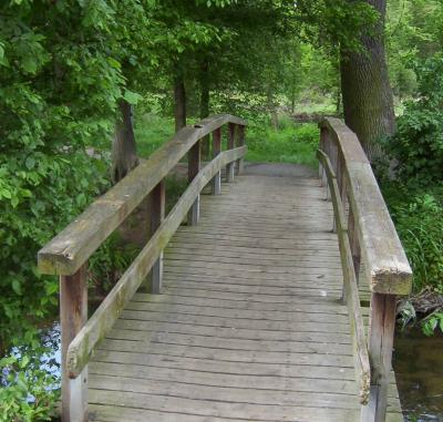 Foto zur Meldung: Bürgermeister Fischer informiert über Nauheimer Brücken