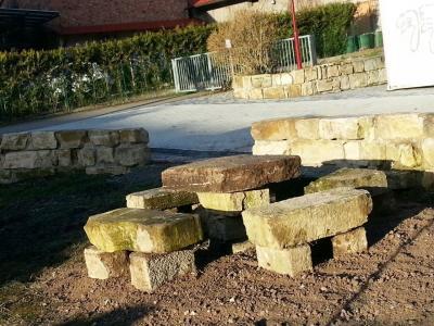 """Foto zu Meldung: Nazzaer """"Stonehenge"""" entsteht"""