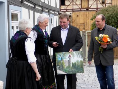 Foto zu Meldung: Heimatmuseum wurde eröffnet