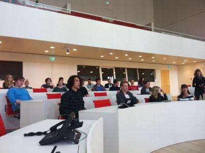 Besuch im Plenarsaal Potsdam