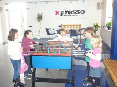 Foto zur Meldung: Spiel und Spaß im Kindertreff des Kinder- und Jugendkulturbahnhofs X-Presso