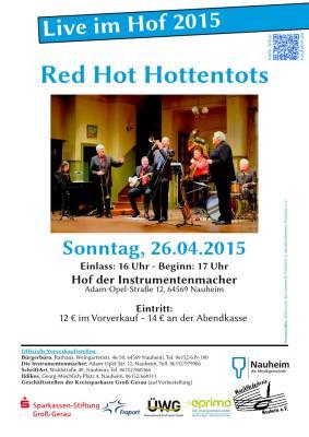 """Foto zur Meldung: """"Live im Hof"""": RED HOT HOTTENTOTS"""
