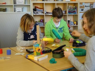 Foto zu Meldung: Ostern in der Evangelischen Schraden-Grundschule 2015