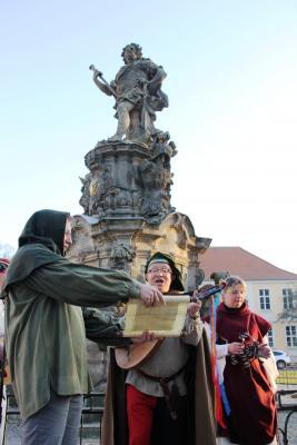 Foto zur Meldung: Stadtführungen mit Paulus von Rotenaw