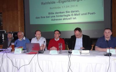 Foto zu Meldung: Rehfelde-EigenEnergie e.G. mit erfolgreicher Bilanz