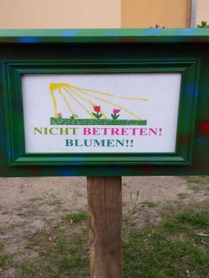 Foto zu Meldung: Projekt Blumenwiese Klasse 4b