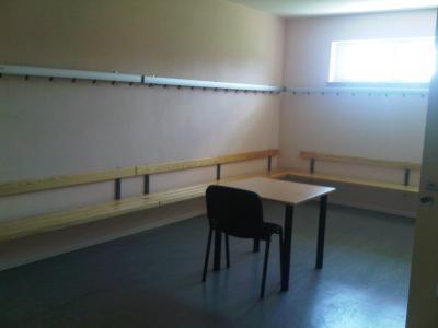 Foto zur Meldung: Gemeinsam finanziert und umgesetzt: Neues Sozialgebäude für FSV Preußen Bad Saarow