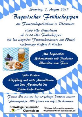 Foto zur Meldung: Bayerischer Frühschoppen