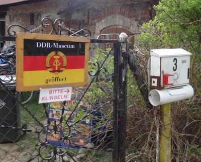 Foto zur Meldung: Nostalgie-Stopp in Garzin