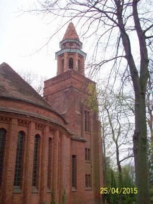 Foto zur Meldung: Auferstehungskirche auf dem Historischen Friedhof zu Rathenow