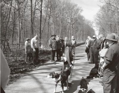 Foto zur Meldung: Kaltensondheimer gehen an ihre Grenzen - Gemarkungsgrenzgang am 19. April 2015