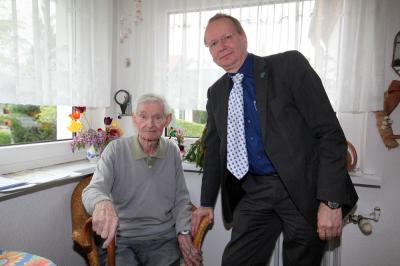 Bild der Meldung: Glückwunsch zum 101. Geburtstag