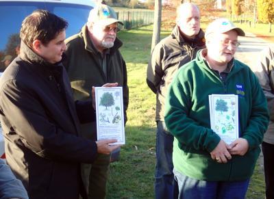 """Foto zur Meldung: Einladung zur Pflanzaktion """"Baum des Jahres"""""""