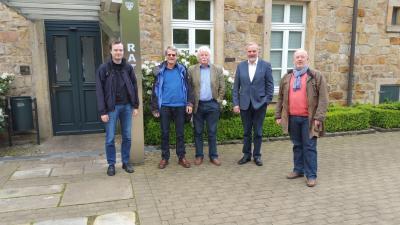 Foto zur Meldung: Besuch Klimakommune Saerbeck