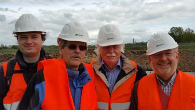 Foto zur Meldung: Reise zur Tennet Erdverkabelungsbaustelle Heede