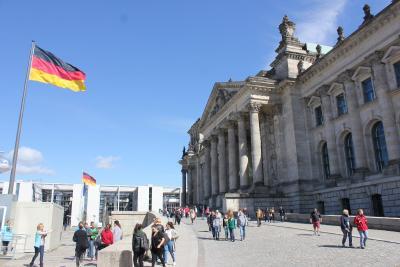 Foto zu Meldung: Besuch des Bundestages
