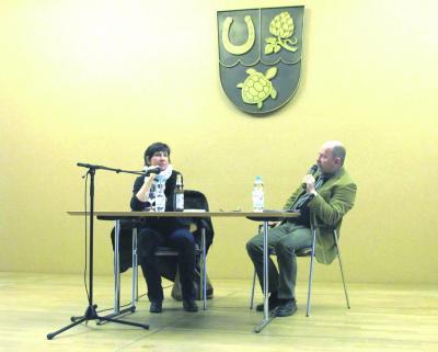 Bild der Meldung: Die Schriftstellerin Angelika Klüssendorf zu Gast