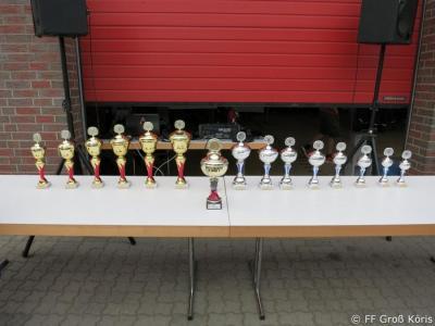 Foto zur Meldung: 21. Feuerwehrmarsch & Tag der offenen Tür der Freiwilligen Feuerwehr Groß Köris