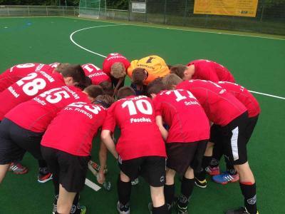 Foto zur Meldung: Hockey: Spielbericht der MJB vom 18.05.2015