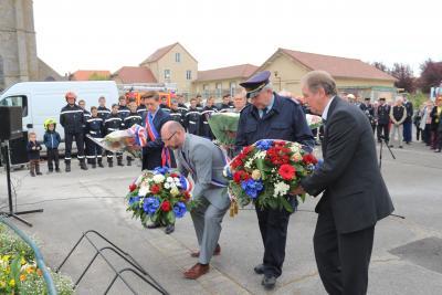 Foto zu Meldung: Frankreichbesuch in Mormant -  Pritzwalker besuchten Gedenkveranstaltung und das Jubiläum der Jugendfeuerwehr
