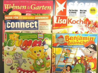 Foto zur Meldung: Neue Zeitschriftentitel