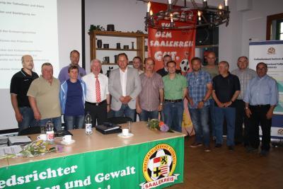 Foto zur Meldung: 3.ordentlicher Verbandstag des KFV Fußball Saalekreis
