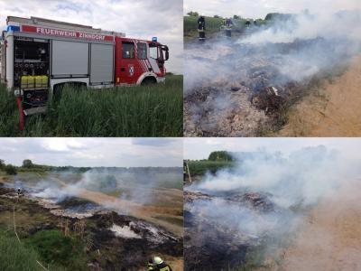 Foto zu Meldung: Fehlalarm und Flächenbrand
