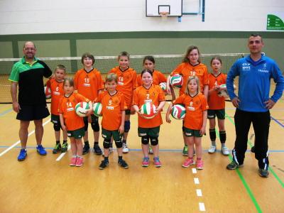 Foto zur Meldung: Volleyballabteilung des SC Laage wächst weiter