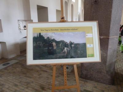 Foto zur Meldung: Potsdamfahrt der Klasse 4