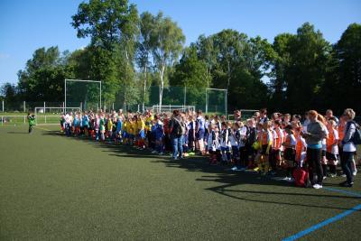 Foto zur Meldung: KJSS im Fußball am 13.05.2015 in Brieske