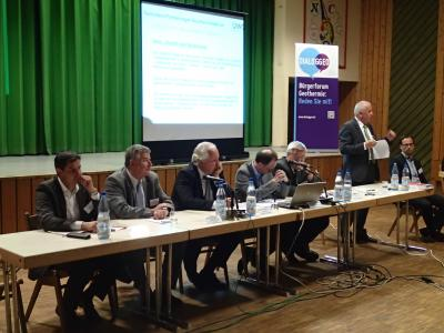 Foto zur Meldung: Bürgerversammlung zum Thema Geothermie - Hoffnung und Skepsis