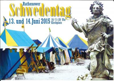 Foto zur Meldung: Schwedentage in Rathenow