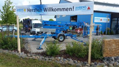 Foto zur Meldung: Ahrens Dach- und Solartechnik Jubiläum