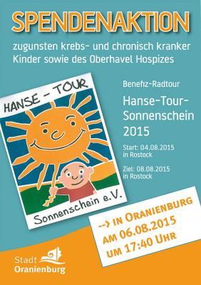 Foto zu Meldung: Oranienburg sammelt für das Stationäre Hospiz Oberhavel