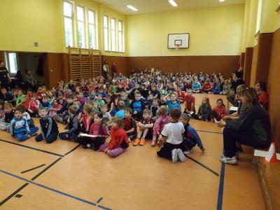 Foto zu Meldung: Lustiges Sportfest und Sponsorenlauf zum Kindertag