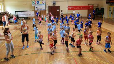 """Foto zur Meldung: Kita """"Sonnenland"""" See/Kosel ist sportlichste Kita des Landkreises"""