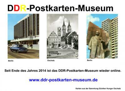 DDR-Postkarten-Museum
