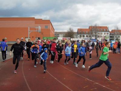 Foto zur Meldung: 6. Lauf - Paarlaufserie 2012/13 mit Abschlussveranstaltung