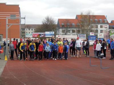 Foto zur Meldung: 1. Lauf - Paarlaufserie 2013/14