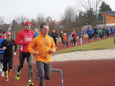 Foto zur Meldung: 3. Lauf - Paarlaufserie 2013/14