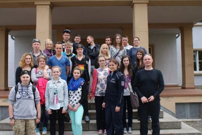 Foto zur Meldung: Deutsch-polnische Schülerbegegnung in Oranienburg