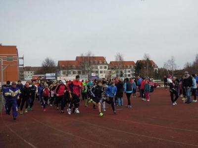 Foto zur Meldung: 4. Lauf - Paarlaufserie 2013/14