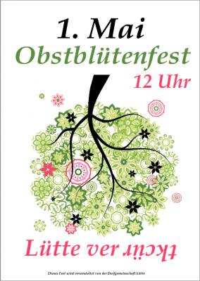 Foto zur Meldung: Obstblütenfest in Lütte am 1. Mai 2015