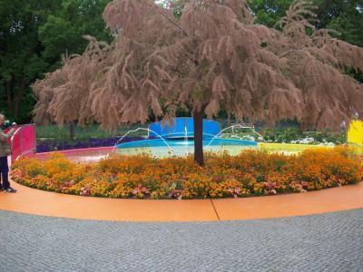 Foto zur Meldung: Farbenrausch am Stadtplatz im Optikpark
