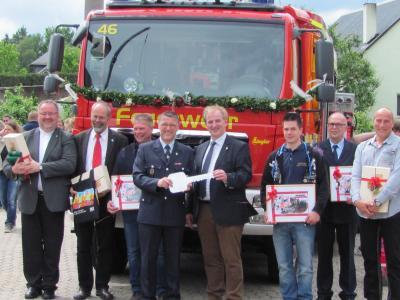 Foto zur Meldung: Neues Löschfahrzeug für die Feuerwehr Rheinböllen